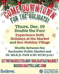 Holidays at the Market poster